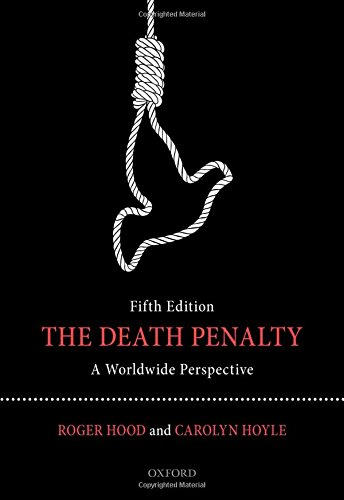 9780198701736: The Death Penalty: A Worldwide Perspective