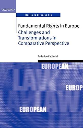 9780198702047: Fundamental Rights in Europe (Oxford Studies in European Law)