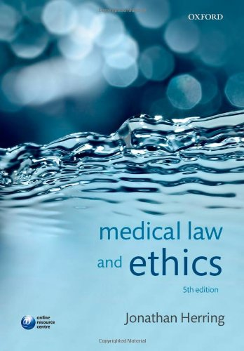 9780198702269: Medical Law and Ethics
