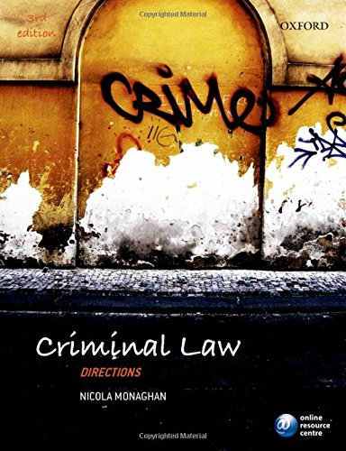 9780198702283: Criminal Law Directions
