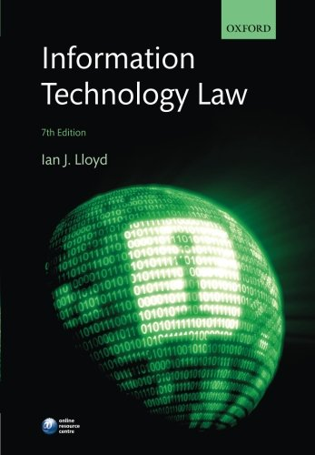 9780198702320: Information Technology Law