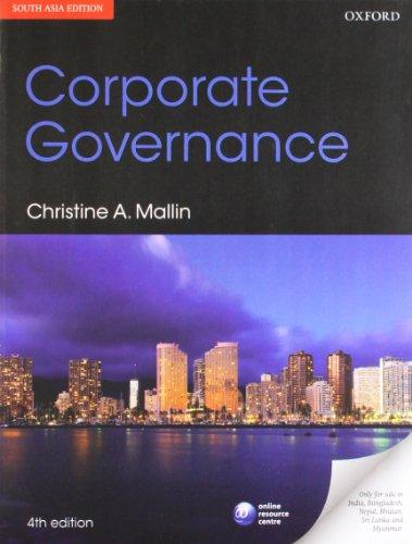 CORPORATE GOVERNANCE,4E: MALLIN