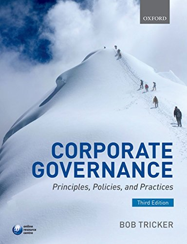 9780198702757: Corporate Governance: Principles, Policies, and Practices
