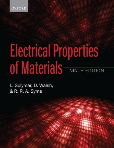 9780198702788: Electrical Properties of Materials