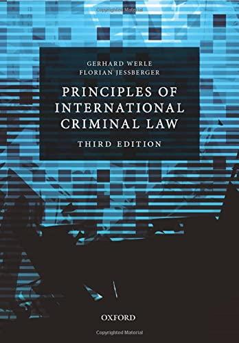 9780198703600: Principles of International Criminal Law