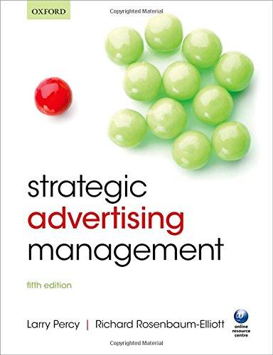 9780198703655: Strategic Advertising Management