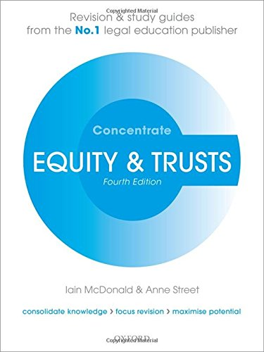 9780198703716: Equity & Trusts Concentrate: Law Revision and Study Guide