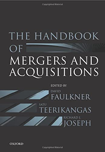 9780198703884: The Handbook of Mergers and Acquisitions
