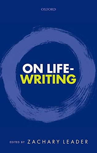 9780198704065: On Life-Writing