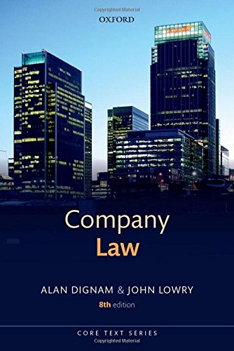 9780198704133: Company Law (Core Texts Series)