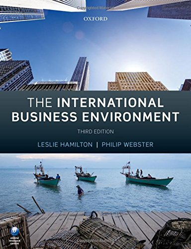 9780198704195: The International Business Environment