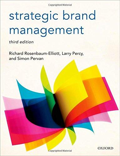 9780198704201: Strategic Brand Management