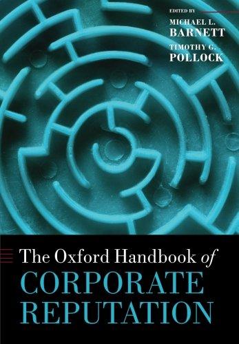 9780198704614: The Oxford Handbook of Corporate Reputation (Oxford Handbooks)