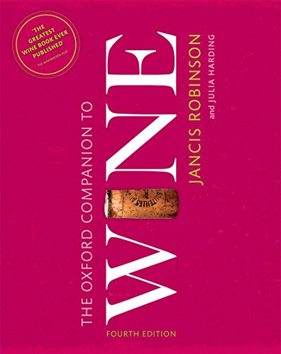 9780198705383: The Oxford Companion to Wine (Oxford Companions)