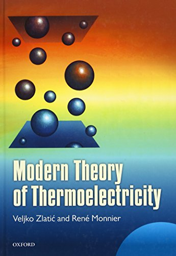9780198705413: Modern Theory of Thermoelectricity
