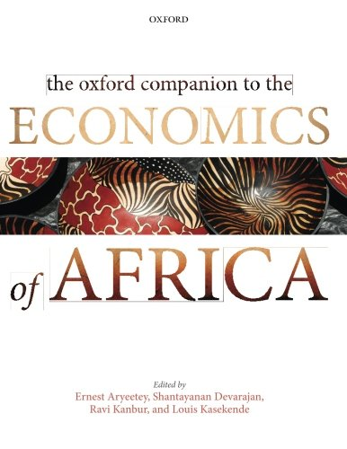 9780198705437: The Oxford Companion to the Economics of Africa (Oxford Companion To. (Paperback))