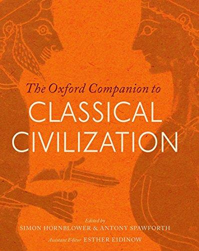 9780198706779: The Oxford Companion to Classical Civilization