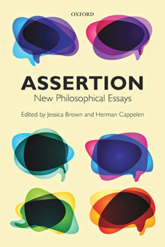 9780198707639: Assertion: New Philosophical Essays