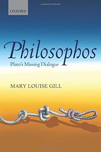 9780198708650: Philosophos: Plato's Missing Dialogue