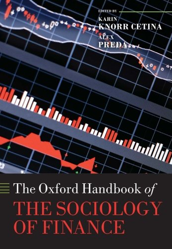 9780198708773: The Oxford Handbook of the Sociology of Finance (Oxford Handbooks)