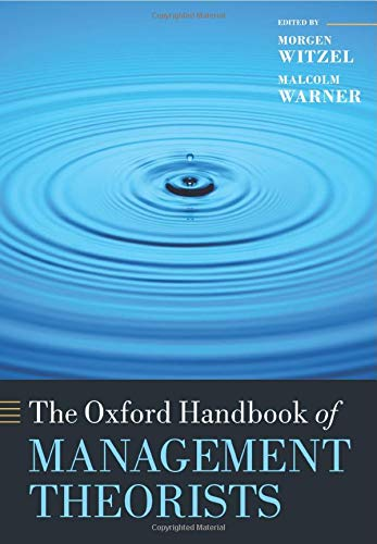 9780198708827: The Oxford Handbook of Management Theorists