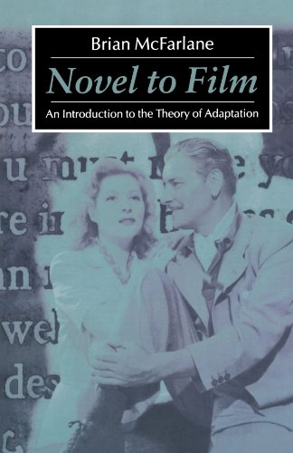 Novel to Film: An Introduction to the: Brian McFarlane