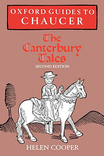 9780198711551: Oxford Guides to Chaucer: The Canterbury Tales