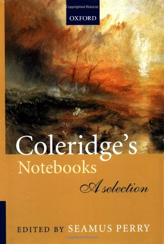 9780198712015: Coleridge's Notebooks: A Selection