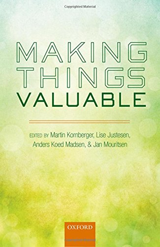 9780198712282: Making Things Valuable