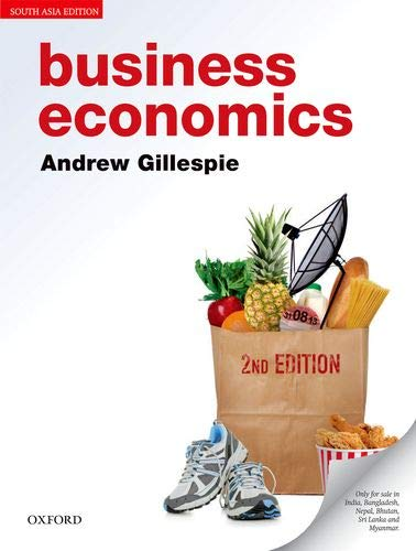 9780198712633: Business Economics (Edn 2) By Andrew Gillespie