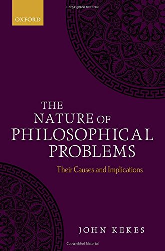 9780198712756: The Nature of Philosophical Problems: Their Causes and Implications