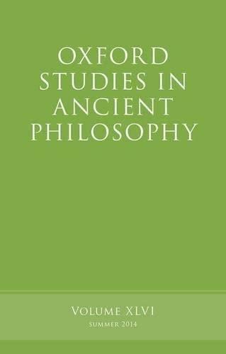 Oxford Studies in Ancient Philosophy, Volume 46.: INWOOD, B.,