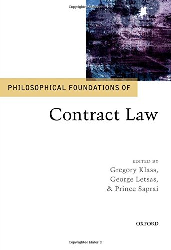 9780198713012: Philosophical Foundations of Contract Law (Philosophical Foundations of Law)