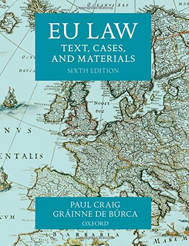 9780198714927: EU Law: Text, Cases, and Materials