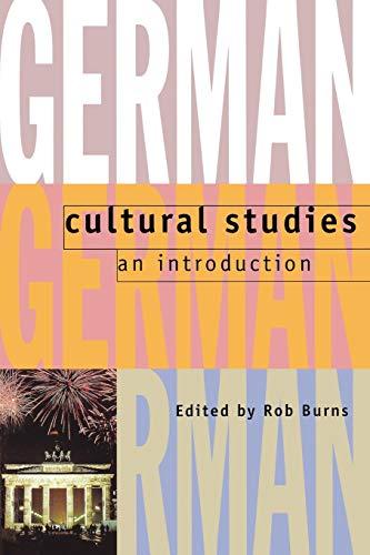 9780198715030: German Cultural Studies: An Introduction