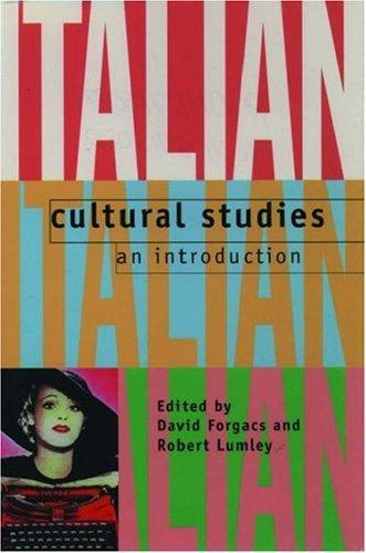 9780198715085: Italian Cultural Studies: An Introduction