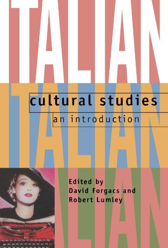 9780198715092: Italian Cultural Studies: An Introduction