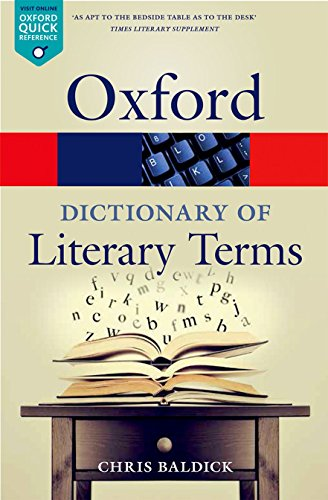 9780198715443: The Oxford Dictionary of Literary Terms (Oxford Quick Reference)