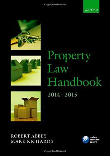 9780198715832: Property Law Handbook 2014-2015