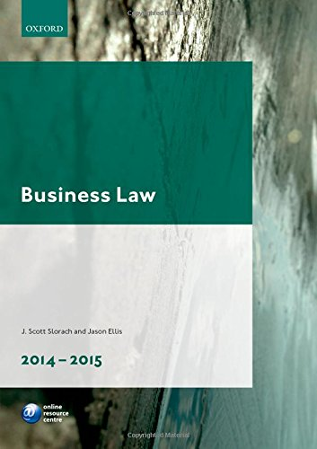9780198715887: Business Law 2014-2015