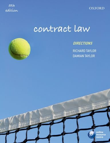9780198718482: Contract Law Directions