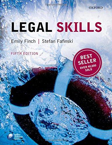 9780198718840: Legal Skills