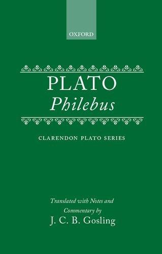 9780198720447: Philebus (Clarendon Plato)