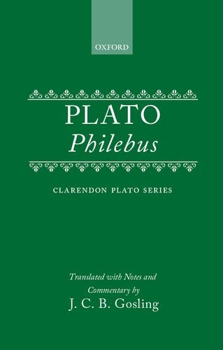 9780198720447: Philebus (Clarendon Plato Series)