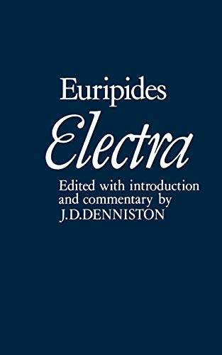 9780198720942: Electra (Plays of Euripides)