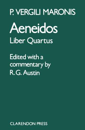 9780198721116: Aeneidos: Liber Quartus (Bk.4)