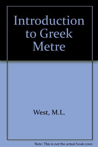 9780198721321: Introduction to Greek Metre