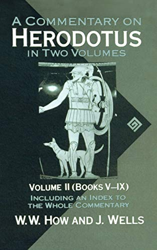 9780198721390: 002: A Commentary on Herodotus: With Introduction and Appendixes Volume 2 (Books V-IX)