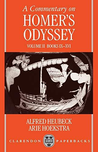 9780198721444: 2: A Commentary on Homer's Odyssey: Volume II: Books IX-XVI