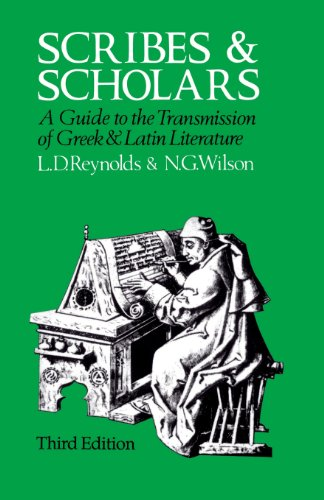 9780198721468: Scribes and Scholars: A Guide to the Transmission of Greek and Latin Literature